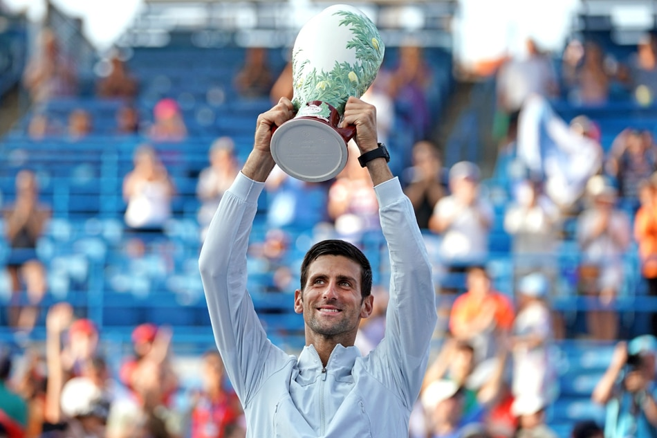 Masterful: Novak Djokovic completes historic set of titles