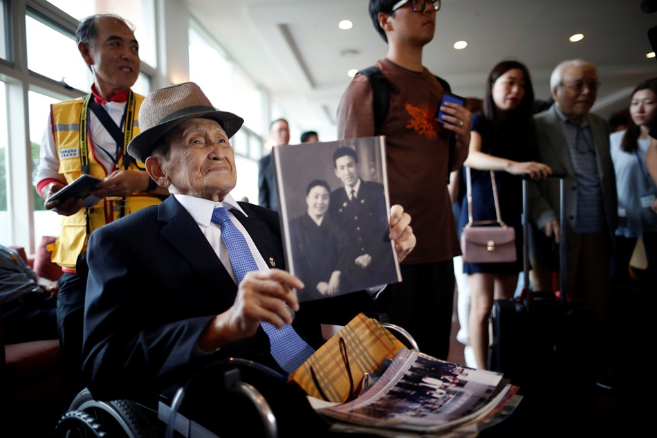Separated South and North Korean families take part in rare reunions