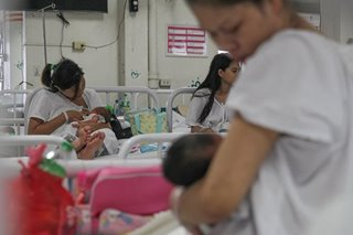 Fight the stigma: Filipino moms encouraged to breastfeed babies