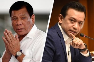 Duterte slams 'nitpicking' Trillanes