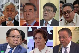 7 SC justices could not inhibit in quo warranto plea vs Sereno: lawmaker