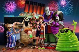 Movie review: Monsters on vacation 'Hotel Transylvania 3'
