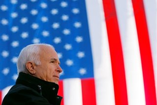 US senator John McCain dead at 81: office