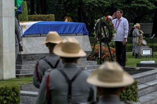 Duterte leads National Heroes Day commemoration