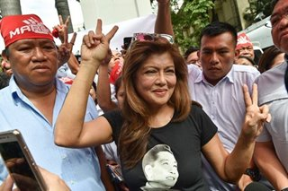 Imee Marcos says she prefers campaigning than debates