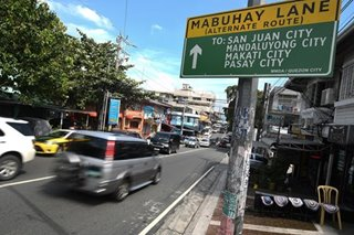 MMDA to go after illegally-parked vehicles on Mabuhay Lanes