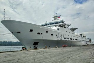 Chinese ship docks in Davao City for refueling, tour