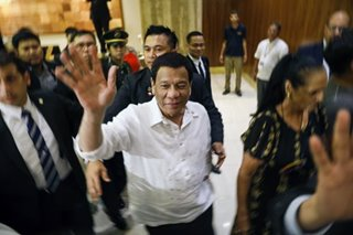 Duterte arrives in Israel for 4-day visit