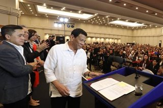 Duterte lauds treatment of Filipinos in Israel