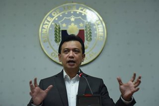 Trillanes: From hot-headed Navy lieutenant to Duterte nemesis