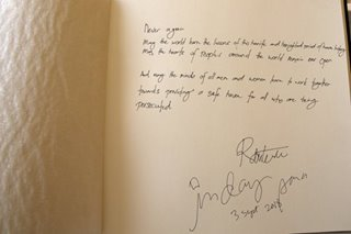 Never again: Duterte signs Holocaust Memorial guest book