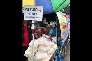Mobile retail outlet ng NFA dinala sa Bacolod City