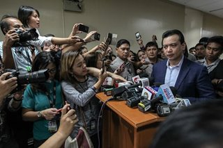 DOJ seeks hold departure order, arrest warrant vs Trillanes