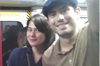 LOOK: Bea, Gerald spotted in HK by Pinoy fans