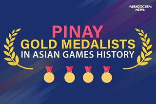 Pinay gold medalists in Asian Games history