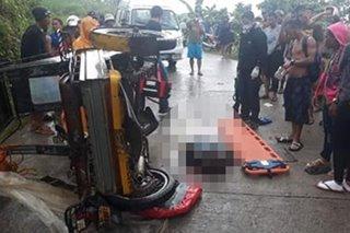 1 patay, 10 sugatan sa aksidente sa Kabankalan City