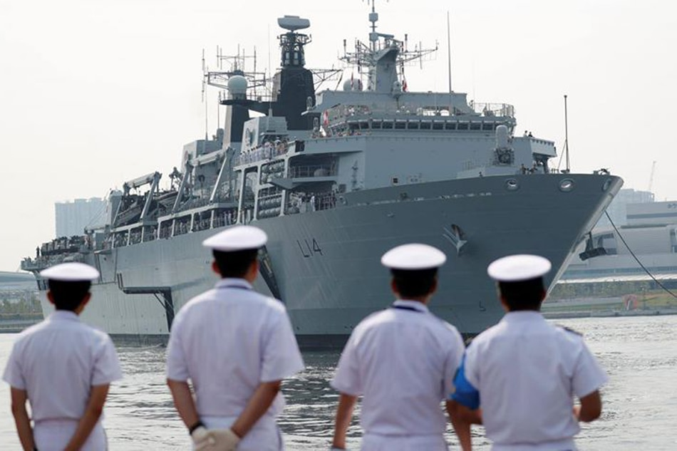 China angered after British Navy warship sails near S China Sea island