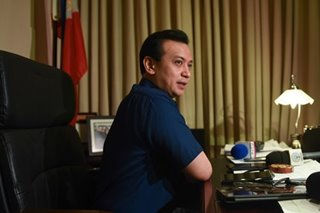CA requires Trillanes to respond to DOJ appeal over coup d'etat case