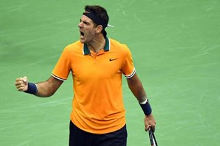 Tennis: Del Potro into US Open final as Nadal quits with knee injury