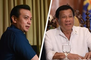 Trillanes rules out peace pipe between Catholic Church and Duterte