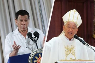 'Unreliable words': Bishop shrugs off Duterte's fresh attack vs clergy