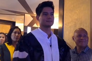 Daniel Matsunaga, tumanggap ng honorary doctorate