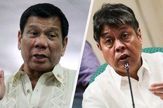 Pangilinan slams Duterte for blaming inflation on Trump