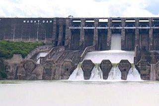 3 dam sa hilagang Luzon, patuloy na nagpapakawala ng tubig