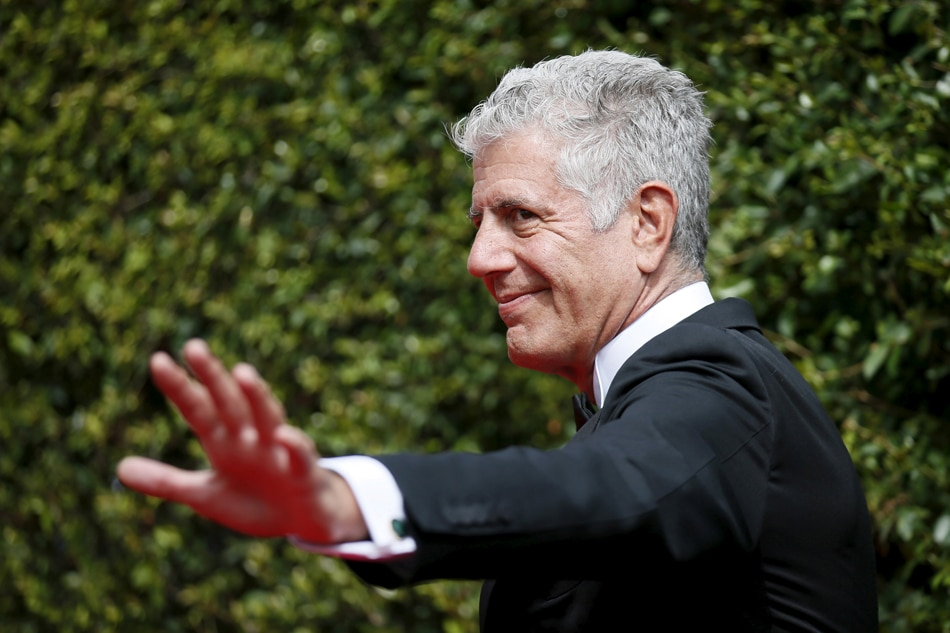 Bourdain wins two Emmys