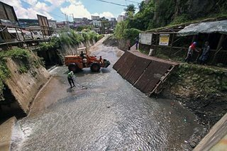 Flood prevention before Ompong
