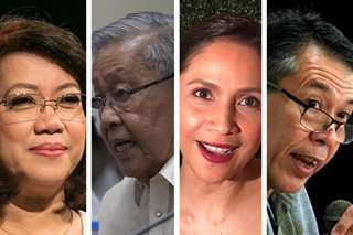 Sereno, Davide, Diokno, Agot in LP Senate slate?