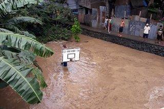 TINGNAN: Pagbaha sa ilang lugar sa Zamboanga City