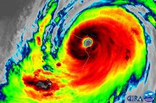 Typhoon Ompong makes landfall in Cagayan
