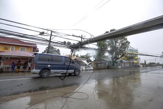 Power restored in some areas stricken by Ompong