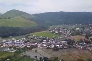 LOOK: Aerial view of Bambang, Nueva Vizcaya after Ompong