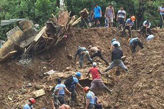 Itogon a high-risk area for landslides, expert says