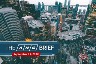 The ANC Brief: Sept. 19, 2018