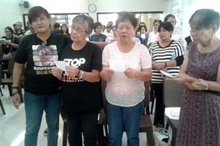 'Hanggang kailan?' Moms of Duterte drug war victims find hope after Palparan conviction