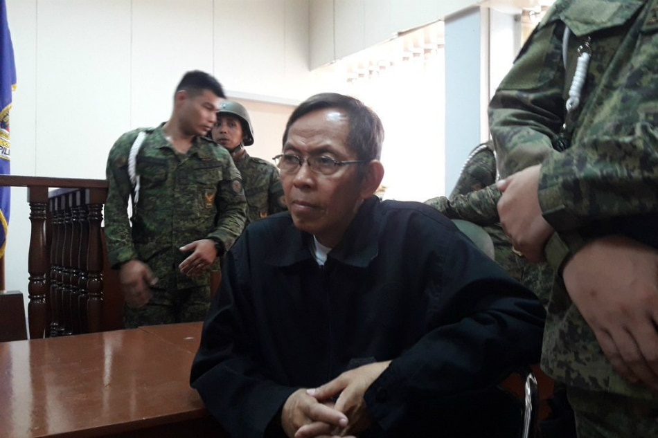 Court won't reverse Palparan kidnapping, illegal detention conviction