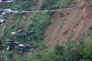 Ompong rains triggered at least 5 fatal landslides in Itogon: police