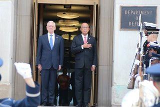 Lorenzana, Mattis discuss PH-US defense ties in Pentagon meeting