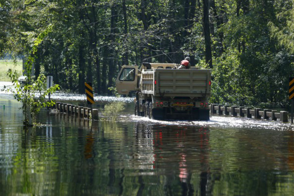 New evacuations ordered in SC  as Florence rainfall raises river levels