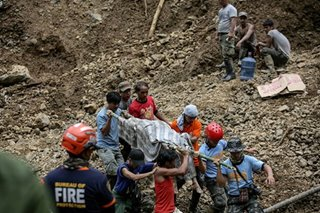 Digging continues as Ompong landslides toll rises
