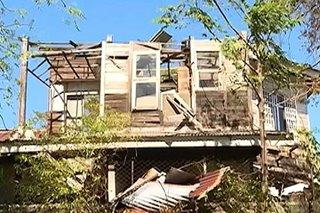 Heritage houses sa Vigan, nasira dahil sa bagyong Ompong
