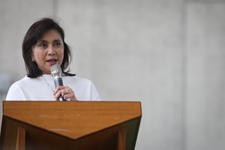 Robredo says Enrile statements in Marcos interview 'false'
