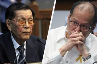 Former President Aquino slams Enrile's revision of martial law