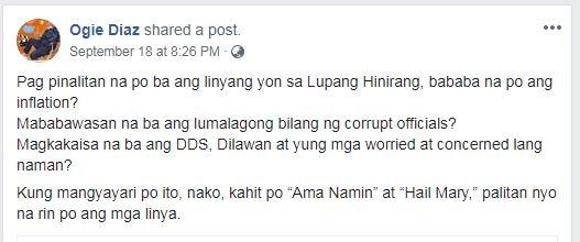 Vice Ganda, other celebs react to proposal tweaking 'Lupang