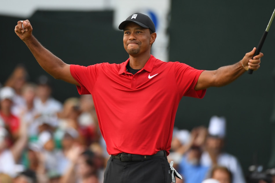 Tiger Woods wins Tour Championship for first victory since 2013
