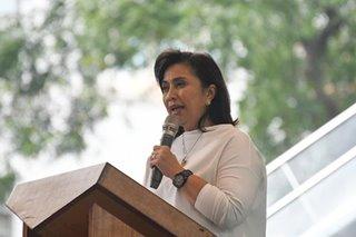 VP Robredo says alleged Duterte ouster plot baseless
