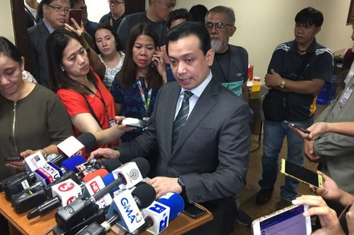 'We're waiting for a miracle': Trillanes to remain at Senate after posting bail